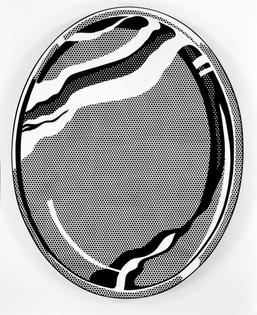 Roy Lichtenstein - Mirror #1 (1969)