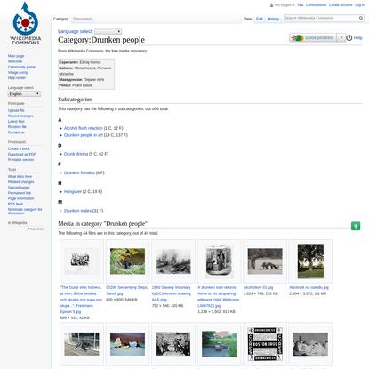 Category:Drunken people - Wikimedia Commons
