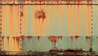 Rusty rivet container