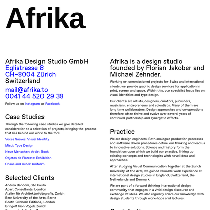 About - Afrika