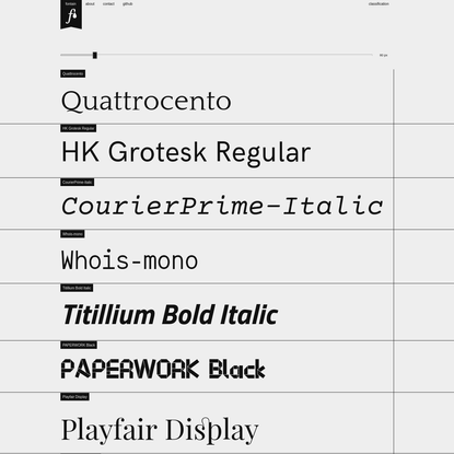 fontain = a font-collection (and a font-collection-system)