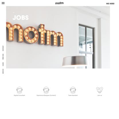 motm * We design digital experiences - MOTM