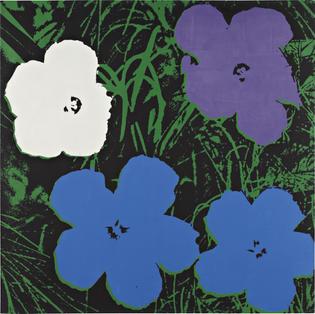 Andy Warhol, Flowers, 1964