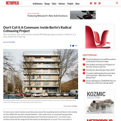 What Cohousing Looks Like: Inside Berlin's Radical R50 Baugruppen Project