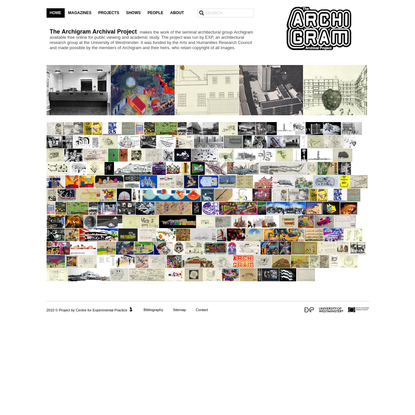 Archigram Archival Project