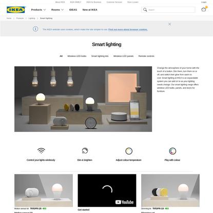 Smart Lighting - Wireless Remote Control Lighting | IKEA