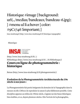 Historique-