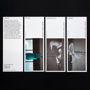 First impressions @iriswoutera #print #graphicdesign #paper #layout #identity #typography #sensory #spatial #design