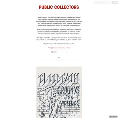 PUBLIC COLLECTORS