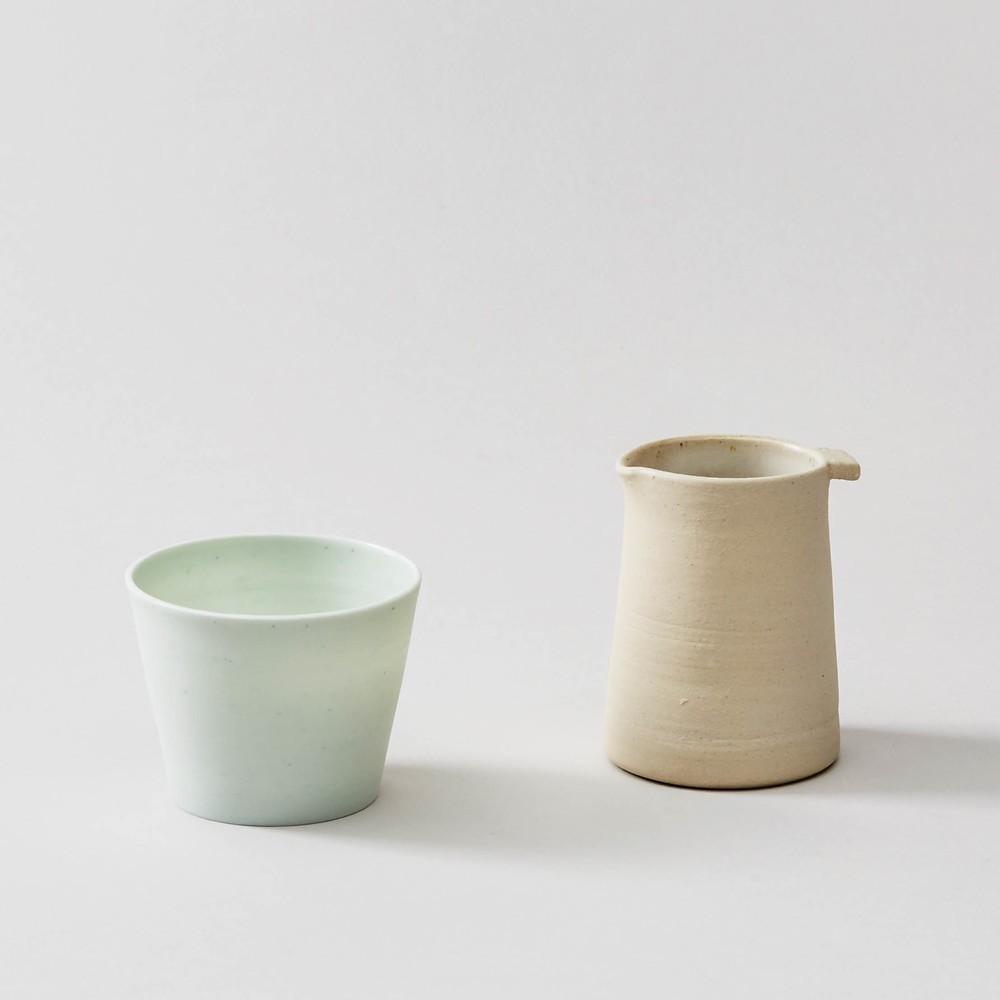 Ceramic vessels by Jono Smart