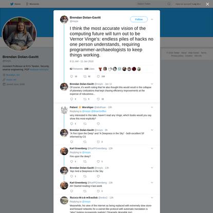 Brendan Dolan-Gavitt on Twitter
