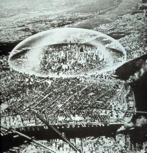 Dome Over Manhattan, R. Buckminster Fuller, 1960