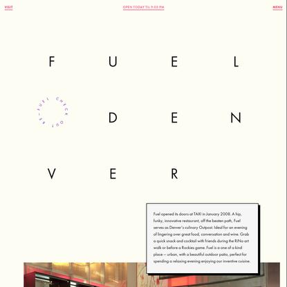 Home | Fuel Cafe