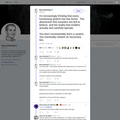 Dan Kaminsky on Twitter