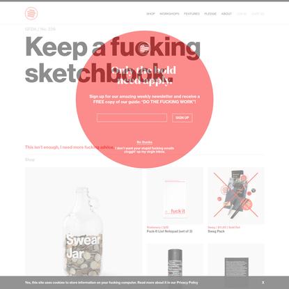 Good Fucking Design Advice