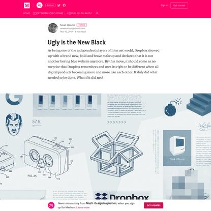 Web Brutalism; Ugly is the New Black - Muzli -Design Inspiration