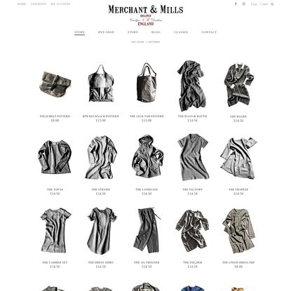 Patterns Archives - Merchant & Mills