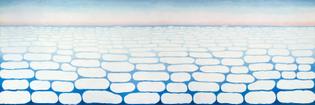Sky Above Clouds IV, 1965 by Georgia O'Keeffe