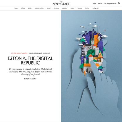 Estonia, the Digital Republic