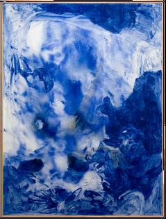 Sigmar Polke - Lapis Lazuli II, 1994