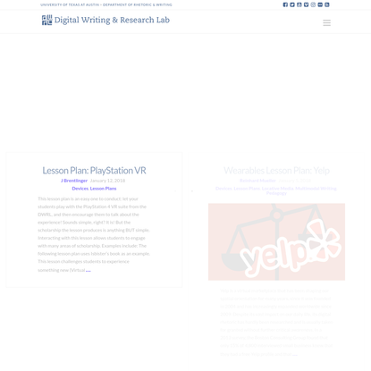The Digital Writing & Research Lab