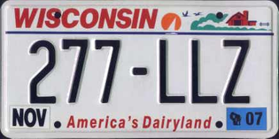 Wisconsin Plate