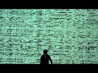 Ryoji Ikeda - Test Pattern - Paris Beaubourg 08-04-2011