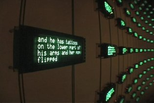 Listening Post at the Whitney, 2003