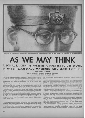 Vannevar Bush - As We May Think
