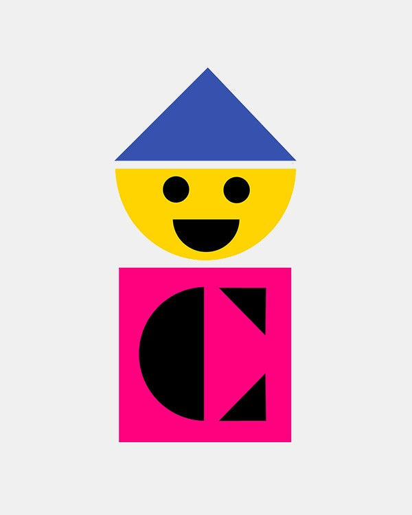 Colorforms logo by Paul Rand
