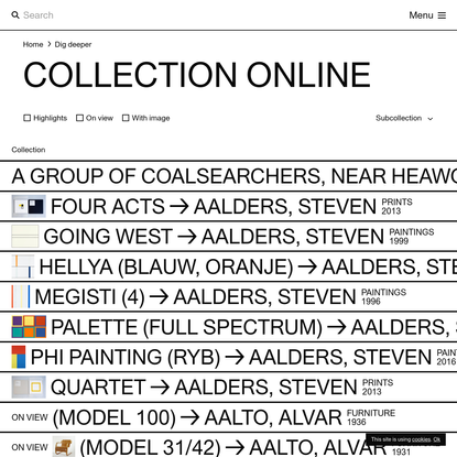Collection online