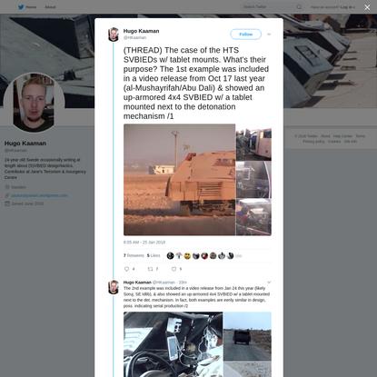 Hugo Kaaman on Twitter
