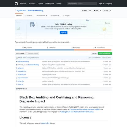 algofairness/BlackBoxAuditing