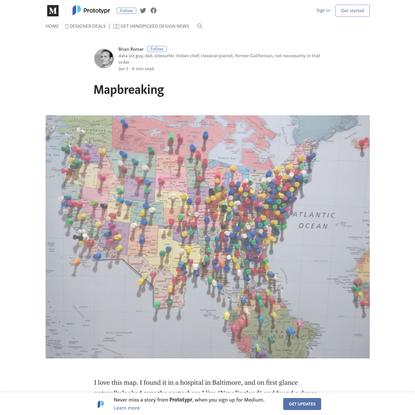 Mapbreaking - Prototypr