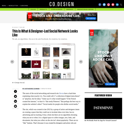 This Is What A Designer-Led Social Network Looks Like