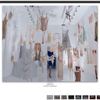 Every Curve Art Installation | Zoe Buckman