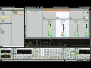 Ableton no input mixer feedback matrix