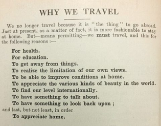 """""""Traveller's Pocket Reference,"""" 1932"""
