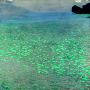 Gustav Klimt - Attersee, 1900