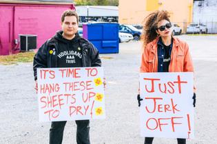 Murfreesboro, TN - Counter protest against white supremacy rally
