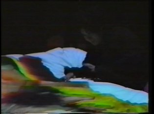 Telematic Dreaming by Paul Sermon (1993)