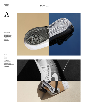 Nike + R.T.Studio Amos Fricke | Aesthetics Habitat