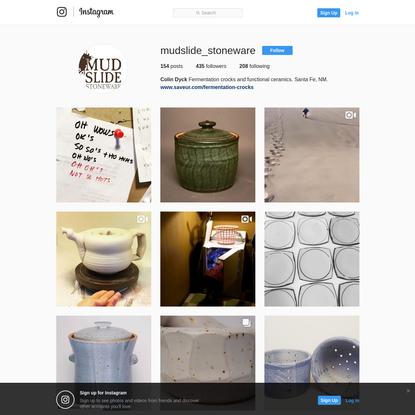 Colin Dyck (@mudslide_stoneware) * Instagram photos and videos