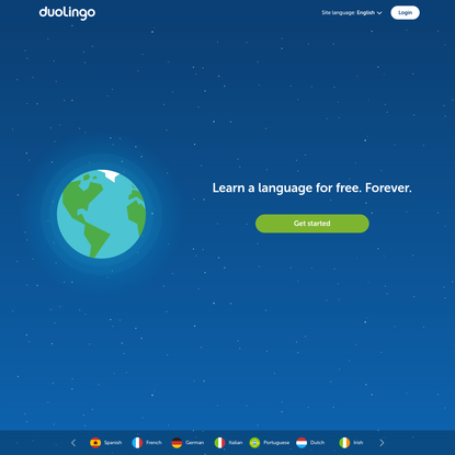 Learn a language for free