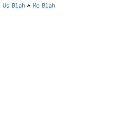 Kim Boutin & David Broner - Us Blah + Me Blah