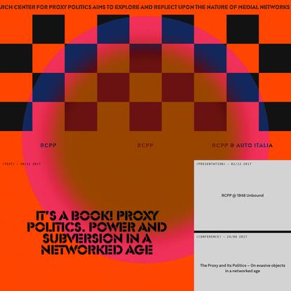 Research Center for Proxy Politics