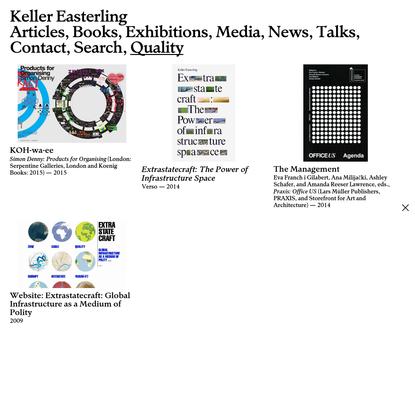 Keller Easterling - Interplay