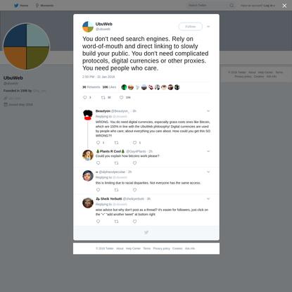 UbuWeb on Twitter