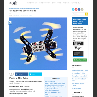 Want to Race Drones? Read This Guide First!
