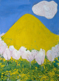 The Yellow Hill - Cuno Amiet, 1903